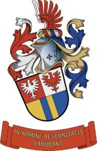 Služební občanský heraldický znak Mgr. Tomáše Pokorného